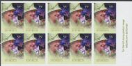 Aus SG3373a Queen's Birthday 2010 self-adhesive booklet pane (SB346)
